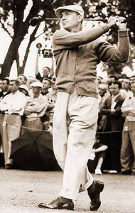 "Ben Hogan ""Nothing is impossible if you want it bad"" 1942"
