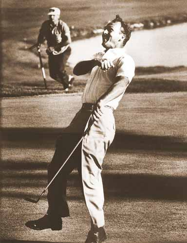 Arnold Palmer Cherry Hills Winning the US 1960