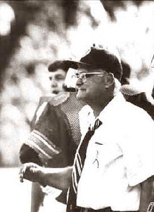 "Woody Hayes Michigan and Ohio State ""Victorious"""