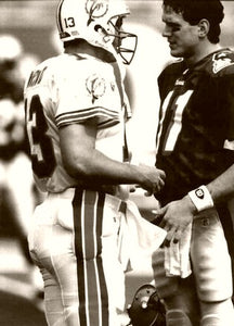 "Dan Marino/Drew Bledsoe ""Some Passing Advice"" 1994"