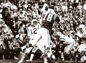 "Joe Namath ""Broadway Joe"" Superbowl Upset"