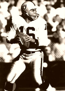 Jim Plunkett Oakland Raiders 1980