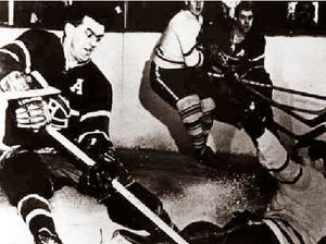 "Maurice ""Rocket"" Richard Montreal Canadiens 1950"