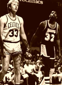 Larry Bird & Magic Johnson NBA Playoffs 1988