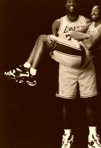 Kobe Bryant/Shaquille O'Neal Los Angeles Lakers 1998