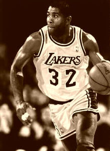 Magic Johnson Most Valuable Player 1987