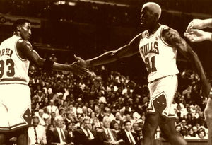 Pippen & Rodman Great Defense 1996