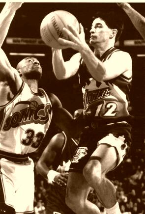 John Stockton Utah Jazz 1995