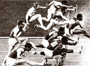 Willie Davenport Winning The Gold Mexico City Olympics 1968