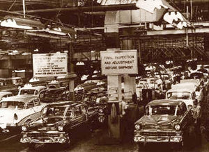 "A Chevy Plant ""A Classic"" 1955"