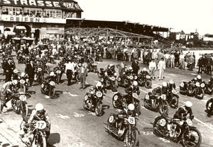 Motorcycle Championship They're Off 1933