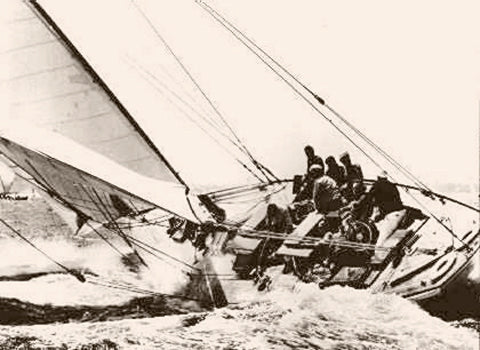 Nantucket Full Speed 1905