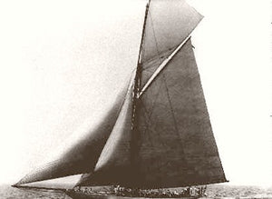 New York Americas Cup The Defender 1895