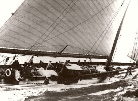 Americas Cup The Rainbow 1930