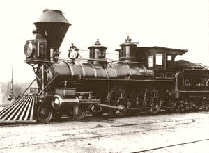 Central Pacific Engine #173 Sacramento 1875