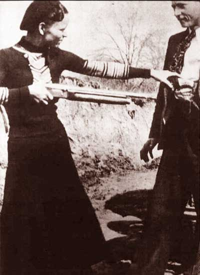 Bonnie and Clyde Bonnie Parker and Clyde Barrow 1931