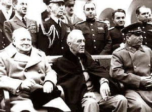"Churchill, Roosevelt & Stalin ""Yalta Conference"" 1945"