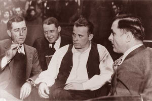 "John Dillinger ""Crown Point Indiana"" 1934"