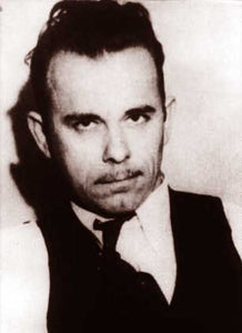 "John Dillinger ""Most Wanted"" 1930"