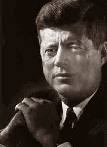 President Kennedy Profiles in Courage (Portrait) 1961