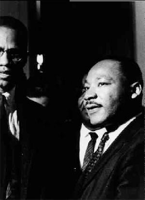 Malcolm X & Martin Luther King Jr. 1964