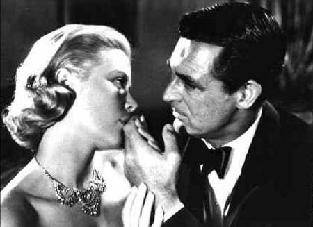 Grace Kelly & Cary Grant Hollywood Legends