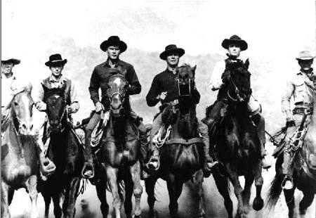 The Magnificent Seven Justice On Horseback