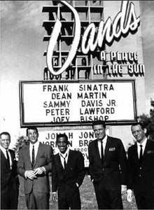 Frank Sinatra The Rat Pack Sands Hotel