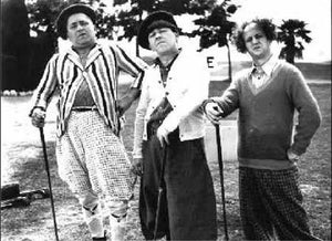 The Three Stooges Drive For Show, Putt For Dough