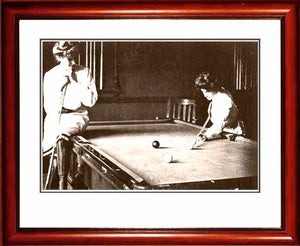 "Pool Hall Babes ""Want To Bet"" 1900"