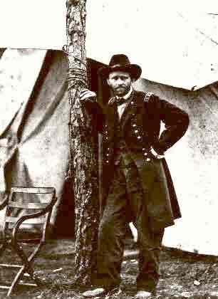 General Grant (v) (Leaning Against A Tree) 1864