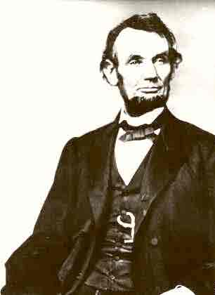Abraham Lincoln Portrait (sitting) 1862