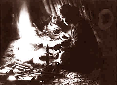 The Navajo A Silversmith 1915