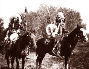 The Sioux Scouts 1900