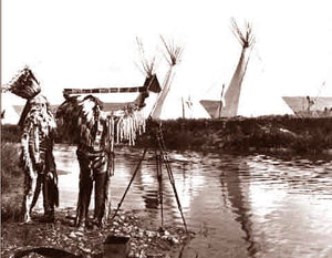 The Sioux Indian Campsite Capturing The Moment 1913