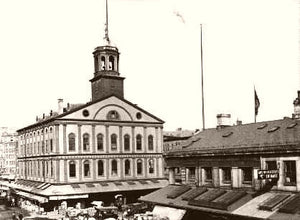 Boston Faneuil Hall 1900