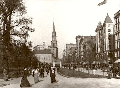 Boston Tremont Square 1904
