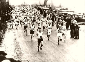 The Boston Marathon The Start 1936