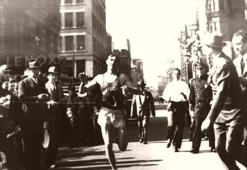 Boston Marathon The Winner 1941