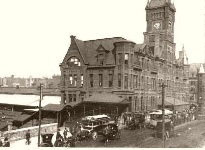 Chicago North West Railroad Depot 1886