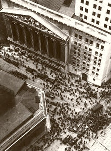 NEW YORK WALL STREET 1929