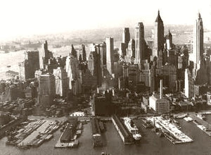 Skyline The Big Apple 1932