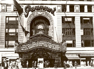 Times Square Paramount Theatre 1942