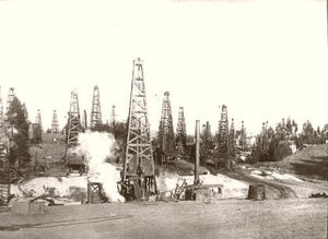 Los Angeles California Oil Fields 1915