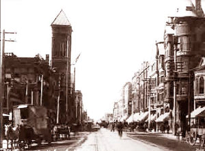 Los Angeles Broadway 1906