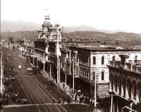 Los Angeles Main Street 1900
