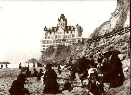 Cliff House A Sunday Picnic 1900