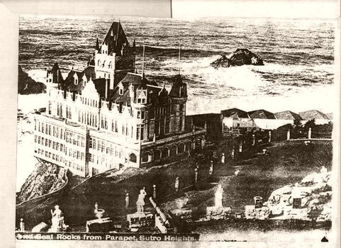 Cliff House Statues 1900