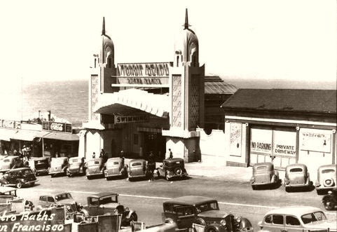 Cliff House A Day At The Baths 1940