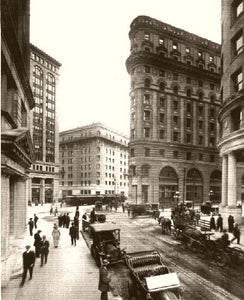 SAN FRANCISCO THE FINANCIAL DISTRICT 1900